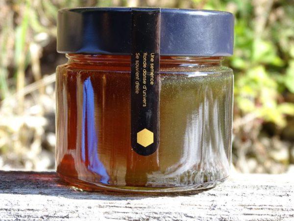 miel-presse-haiku-noir-pollen