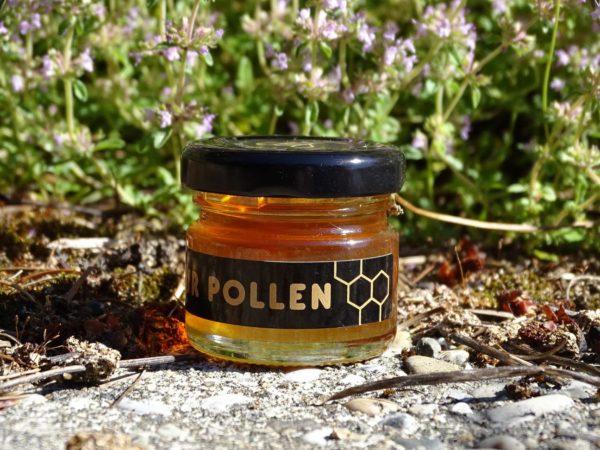 miel-presse-chataignier-petit-pot-noir-pollen